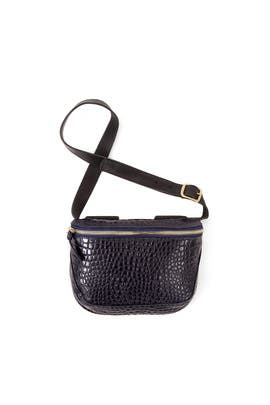 Midnight Croc Fanny Pack by Clare V.