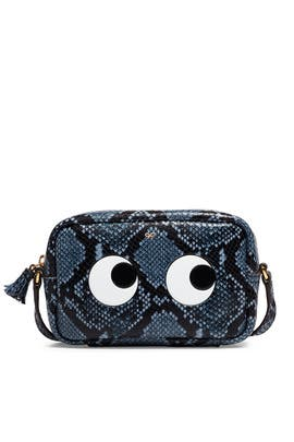 Python Mini Eyes Crossbody by Anya Hindmarch