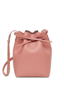 Blush Calf Mini Bucket Bag by Mansur Gavriel Accessories