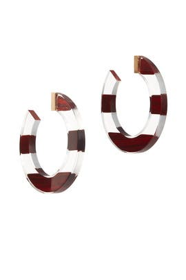 Slice Of Stone Hoop Earrings by kate spade new york accessories