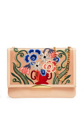 Byzantine Vase Port Of Call Clutch by Lizzie Fortunato