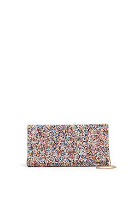 Multi Beaded Candy Clutch by Sondra Roberts