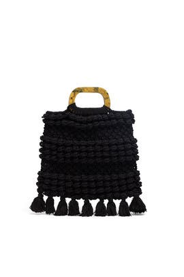 Black Thalia Tote by Cleobella Handbags