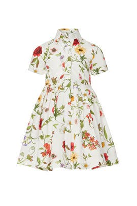 Kids Pique Shirtdress by Oscar de la Renta Kids