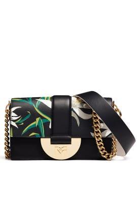 3b45664fbbe1c Black Bonne Journee Halfmoon Bag by Diane von Furstenberg Handbags ...