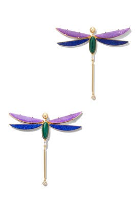 Heirloom Stone Dragonfly Earrings by kate spade new york accessories