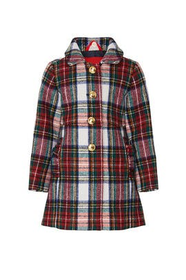 Kids Ruffle Pocket Wool Coat by Crewcuts by J.Crew