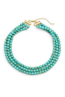 Turquoise Montauk Choker by Elise M.