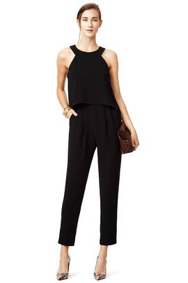 Black Anchors Jumpsuit by Trina Turk