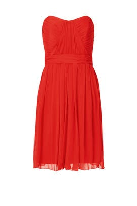 Spanish Red Dress by Badgley Mischka