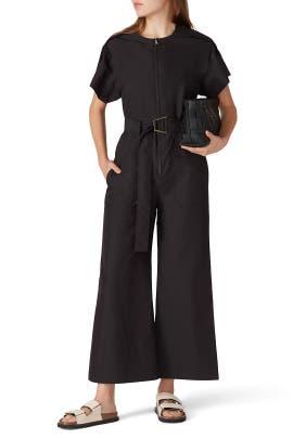 Black Cut Out Jumpsuit by 3.1 Phillip Lim