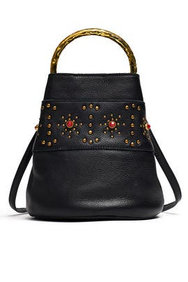 Black Zina Bag by Cleobella Handbags