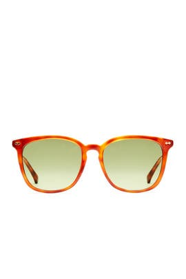 Havana Brown Sunglasses by Gucci