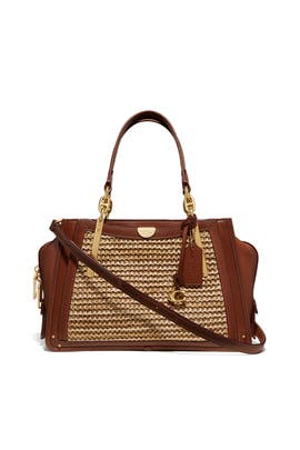Straw Dreamer Bag by Coach Handbags