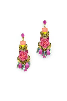 Burke Floral Earrings by Elizabeth Cole