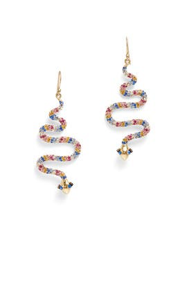 Multi Spice Things Up Snake Drop Earrings by kate spade new york accessories