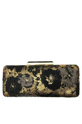 Floral Brocade Minaudiere by Sondra Roberts