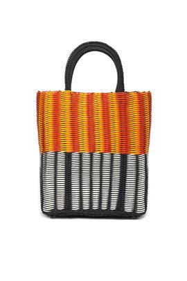 Small Tube Weave Tote by Truss