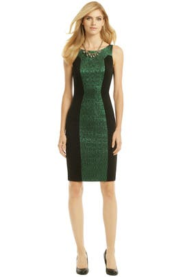 e1d6029e5 Green Illusionist Sheath by Badgley Mischka for $45 | Rent the Runway