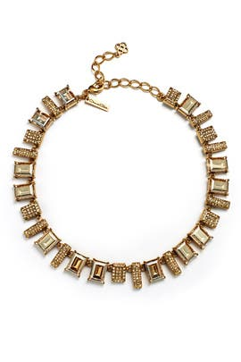 Gold Shadow Necklace by Oscar de la Renta