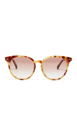 Orange Gradient Sunglasses by Gucci