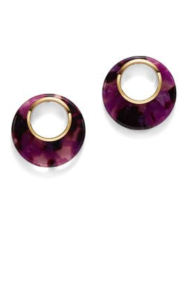 Pink Multi On the Dot Studs by kate spade new york accessories