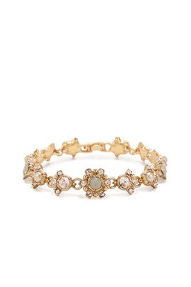 Gilded Gala Bracelet by Marchesa Jewelry