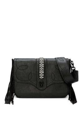 Black Joni Shoulder Bag by Rebecca Minkoff Accessories