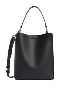 Black Voltaire Small NS Tote by AllSaints
