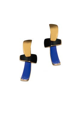 Ernesto T Earrings by Lizzie Fortunato