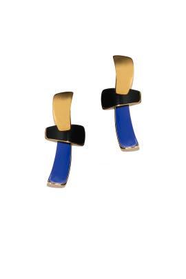 Ernesto T Earrings by Lizzie Fortunato