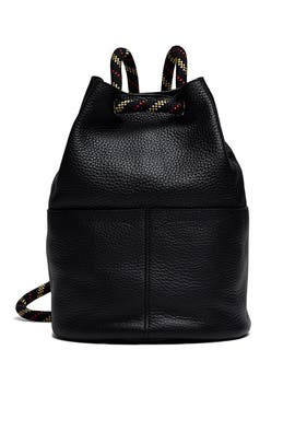Black Climbing Rope Backpack by Rebecca Minkoff Accessories