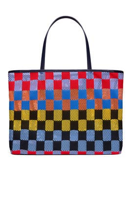 Printed Airmesh Tote by Tory Sport Accessories