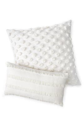 Poms & Silk Pillow Bundle by West Elm