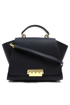 Black Eartha Bag by ZAC Zac Posen Handbags