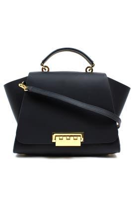 Black Eartha Bag by ZAC Zac Posen Handbags