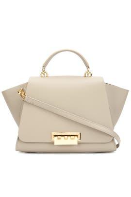 Beige Eartha Bag by ZAC Zac Posen Handbags