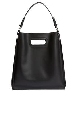 Black Voltaire Hobo Bag by AllSaints