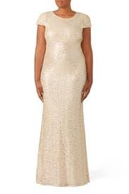 Champagne Award Winner Gown by Badgley Mischka