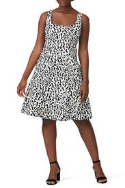 White Leopard Dress by Nanette Lepore