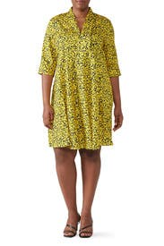 Short Sleeve Scarf Neck Dress by Derek Lam Collective