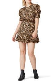 Lila Puff Sleeve Dress by Veronica Beard