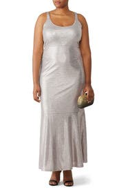 Silver Cameron Gown by Hutch