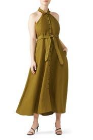 Rosemary Halter Dress by Mara Hoffman
