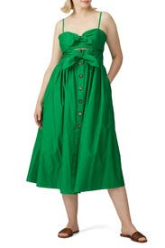 Desert Palm Tie Front Dress by kate spade new york