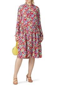 Floral Dionne Dress by Deborah Lyons