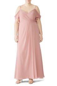 Blush Aldridge Gown by WATTERS