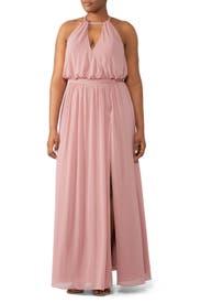 Blush Fleurette Gown by WATTERS