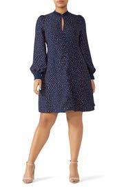 Lips Crepe Dress by kate spade new york