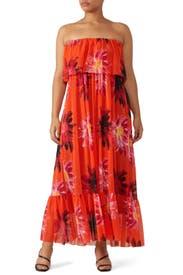 Strapless Popover Dress by Fuzzi